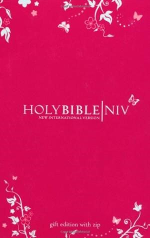 NIV Pocket Bible with Zip Pink (Hard Cover)
