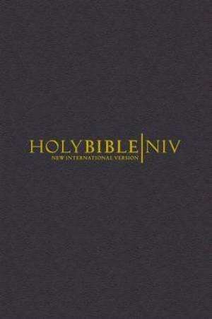 NIV Pocket Bible with Zip Black (Hard Cover)