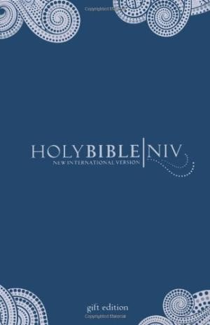 NIV Pocket Bible, Navy (Hard Cover)