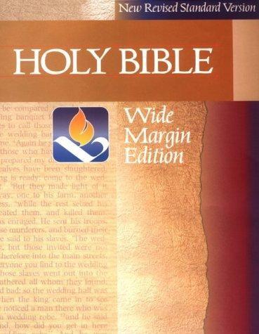 NRSV Wide Margin Bible (Hard Cover)