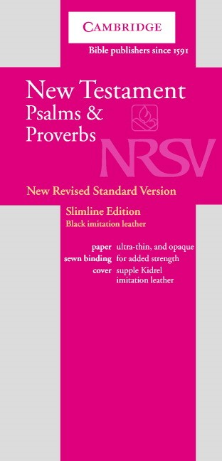 NRSV New Testament and Psalms Black (Leather Binding)