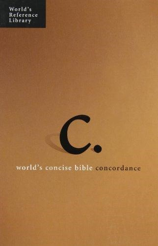 World's Concise Bible Concordance H/b (Hard Cover)