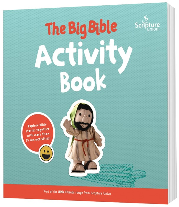 The Big Bible Activity Book (Paper Back)