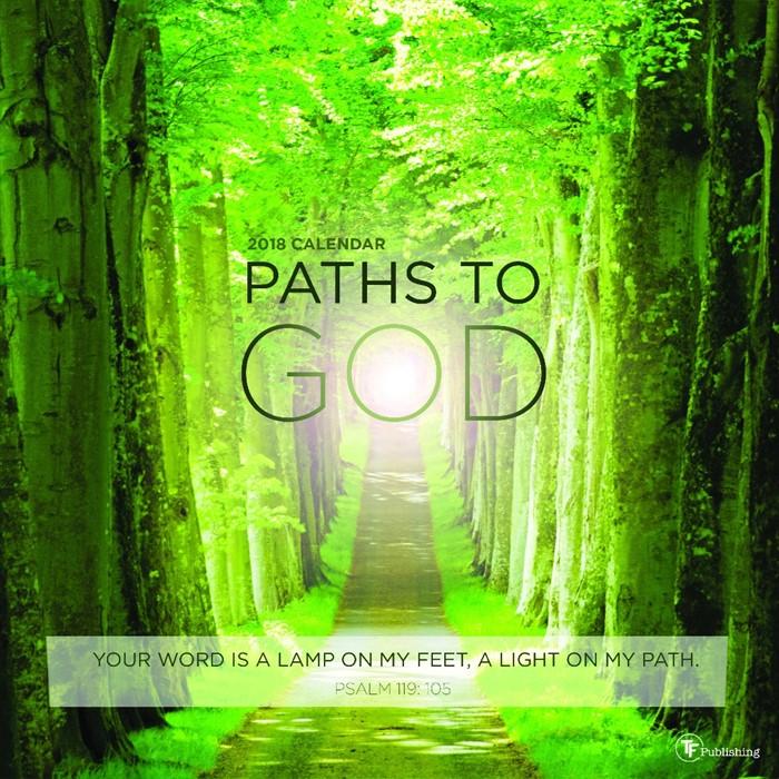 2018 Paths to God Wall Calendar (Calendar)
