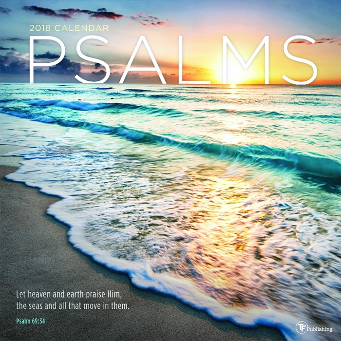 2018 Psalms Wall Calendar (Calendar)