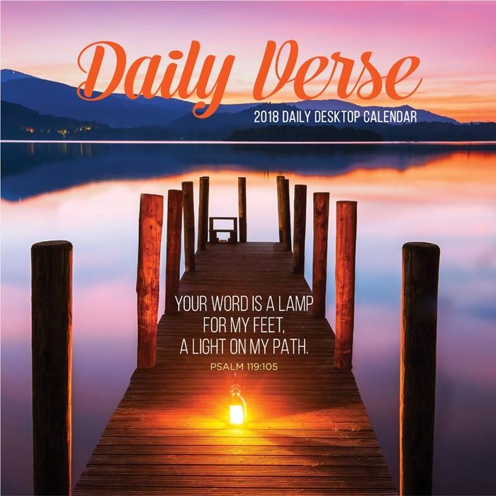 2018 Daily Verse Desktop Calendar (Calendar)