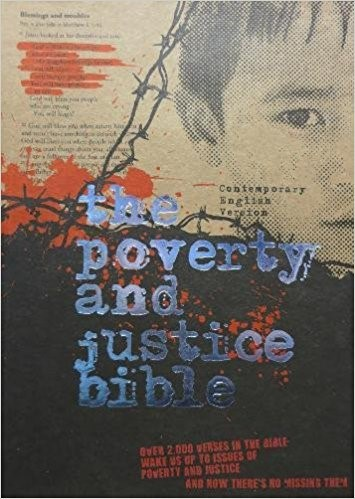 CEV Anglicised Poverty & Justice Bible (Paperback)