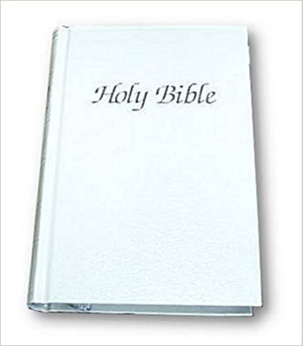 KJV Royal Ruby Presentation Bible, White (Hard Cover)