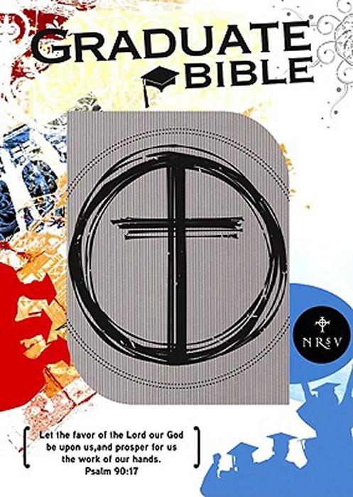 NRSV Graduation Bible Grey (Imitation Leather)