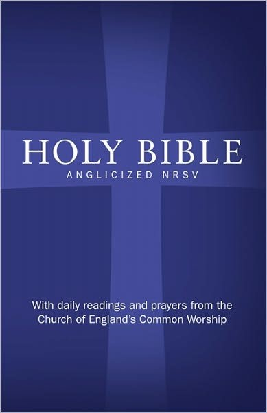 NRSV Anglicized Bible With Daily Prayer And Readings (Hard Cover)