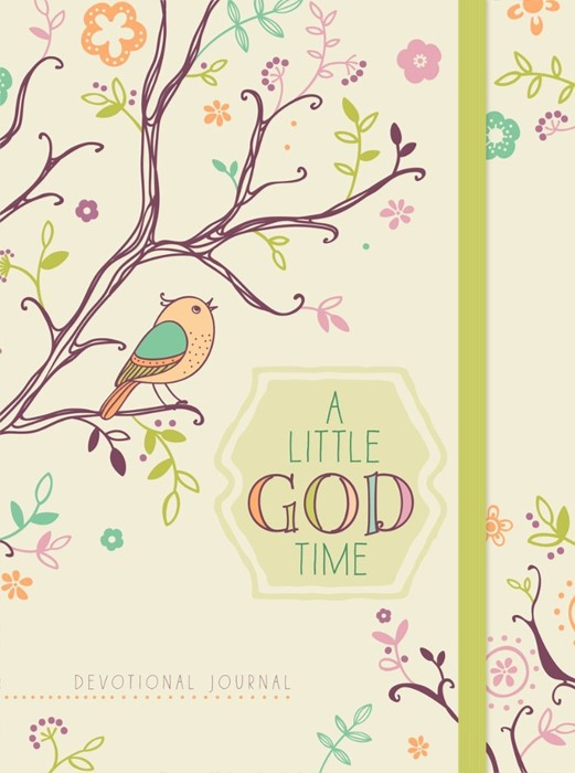 Little God Time Devotional Journal, A (Hard Cover)