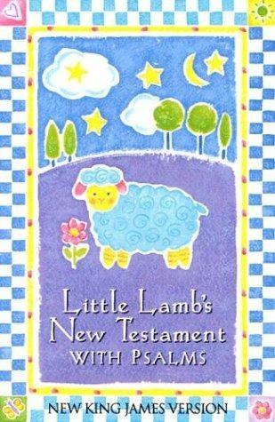 NKJV Little Lamb's New Testament With Psalms (Imitation Leather)