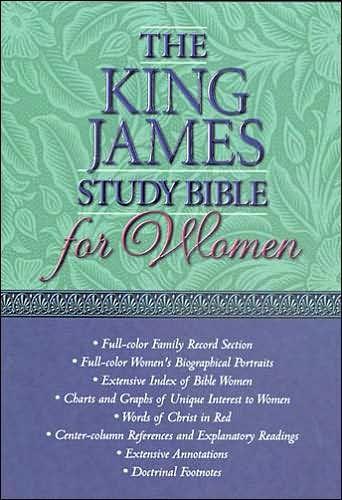 The KJV Study Bible for Women (Leather Binding)
