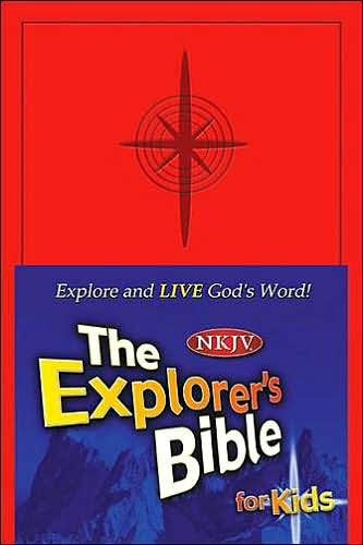 NKJ Explorer's Bible For Kids (Cloth-Bound)