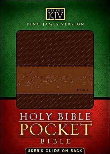 KJV Pocket Bible (Leather Binding)