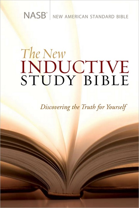 The NASB New Inductive Study Bible (Hard Cover)