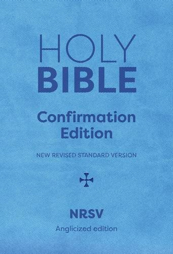 NRSV Anglicised Confirmation Bible Gift Edition (Hard Cover)