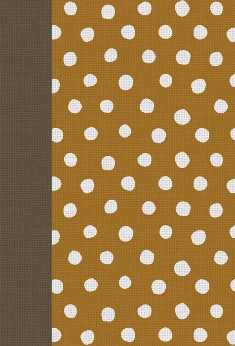 Esv Large Print Compact Bible (Cloth Over Board, Polka Dots) (Hard Cover)