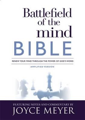 Amplified Battlefield Of The Mind Bible (Hard Cover)
