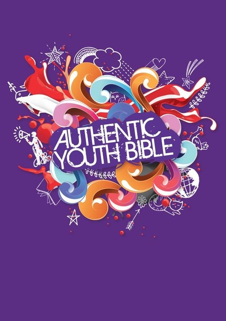 ERV Authentic Youth Bible Purple (Hard Cover)