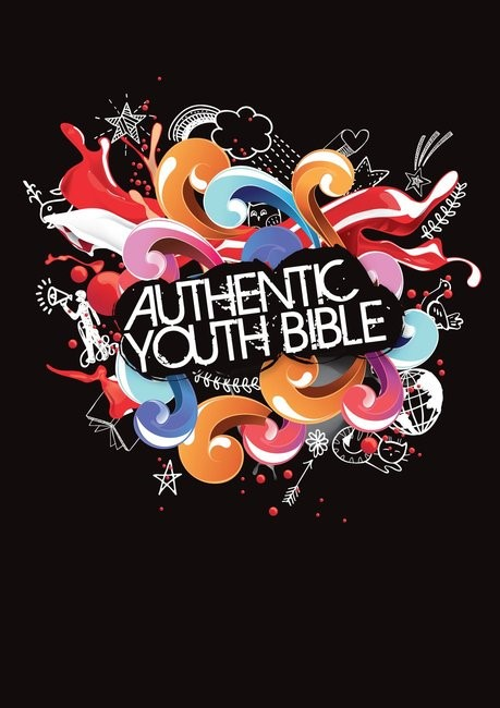 ERV Authentic Youth Bible Black (Hard Cover)