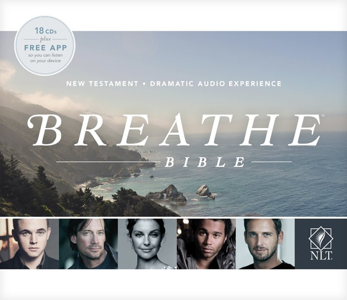 NLT Breathe Bible Audio CD New Testament (CD-Audio)