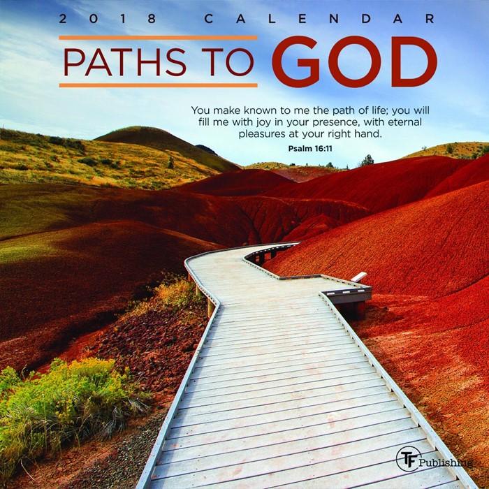 2018 Paths to God Mini Wall Calendar (Calendar)