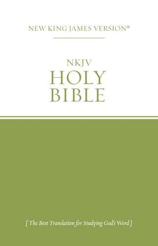 NKJV Economy Outreach Bible Green/White (Paper Back)