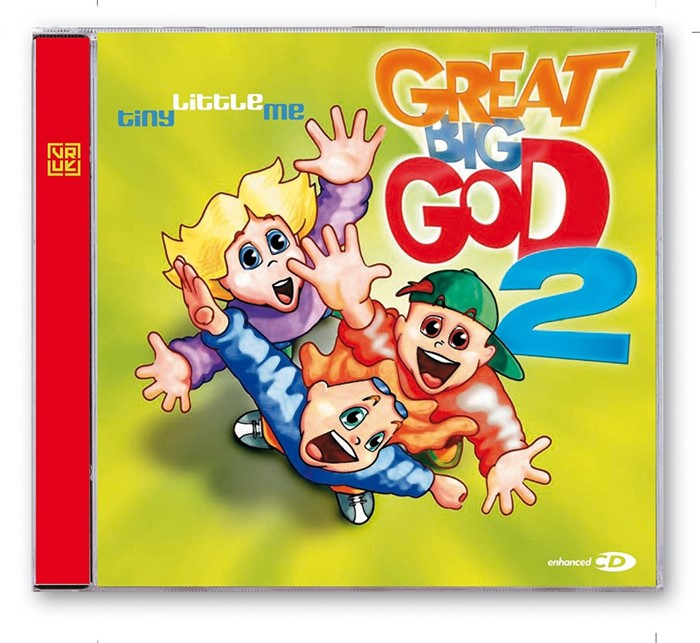 Great Big God 2: Tiny Little Me CD (CD-Audio)