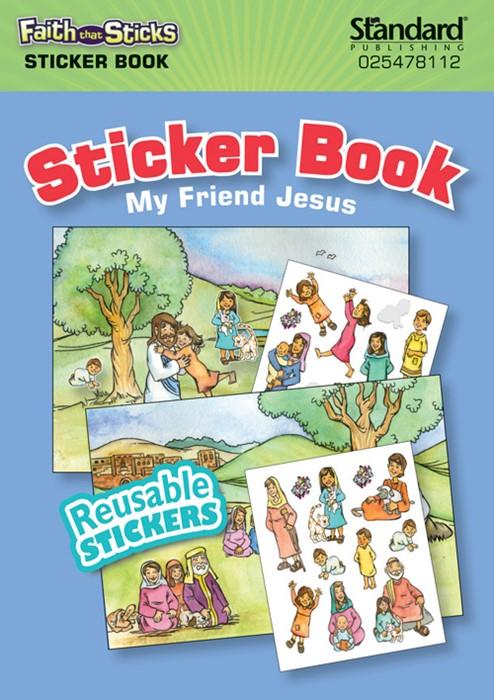 My Friend Jesus Sticker Book (Stickers)