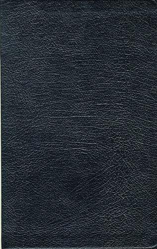 KJV Ultraslim Bible Black (Leather Binding)