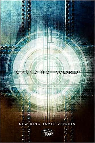 NKJV Extreme Word Bible, Silver (Hard Cover)