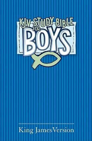 KJV Study Bible For Boys H/b Bl