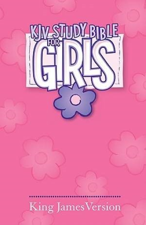 KJV Study Bible For Girls H/b Pk