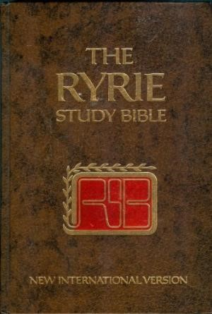NIV Ryrie Study Bible (Hard Cover)