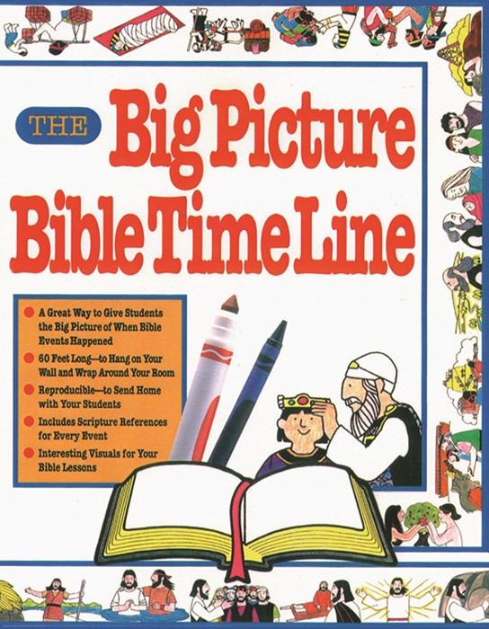 The Big Picture Bible Time Line (Paperback)