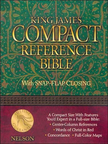 Authorised KJV Reference Bible (Leather Binding)