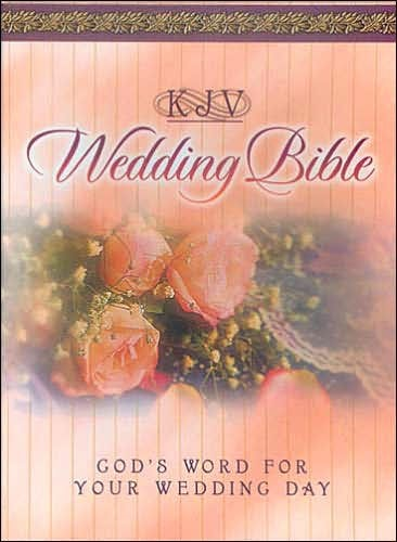 KJV Wedding Bible (Leather Binding)