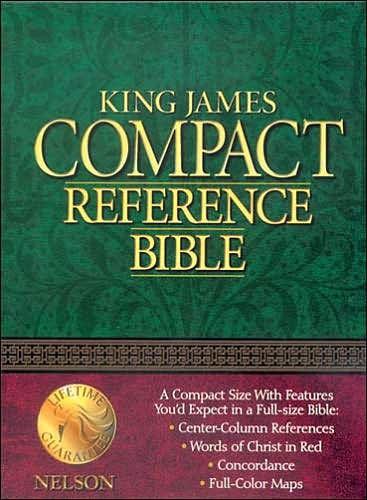 KJV Compact Reference Bible (Leather Binding)