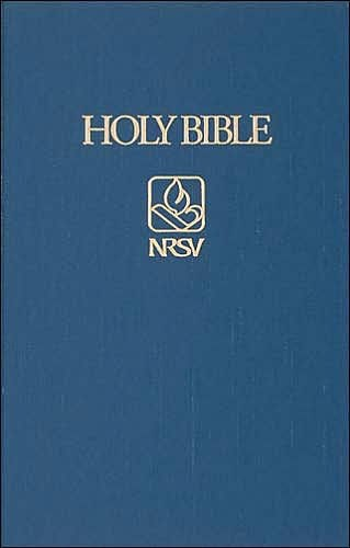 NRSV Pew Bible, Blue (Cloth-Bound)