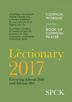 CW & BCP Lectionary 2017 (Paper Back)