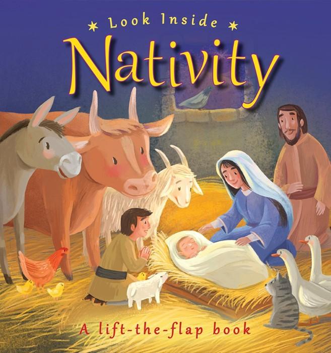 Look Inside Nativity (Board Book)