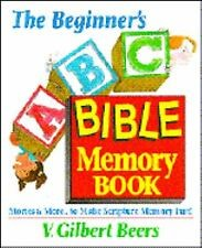 The Beginner's ABC Bible Memory Book (Hard Cover)