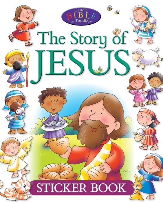 The Story Of Jesus Sticker Book (Paperback)