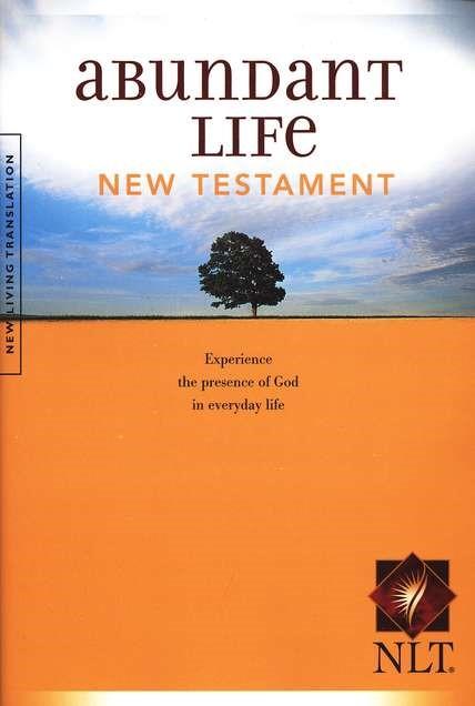 NLT Abundant Life Bible NT (Paperback)