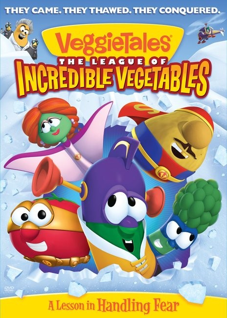 VeggieTales: League of Incredible Vegetables (DVD Video)
