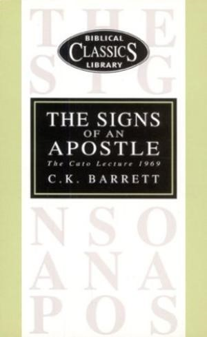 The Signs of an Apostle (Paperback)