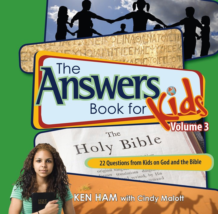 Answers Book For Kids Vol 3: God And The Bible (Hard Cover)