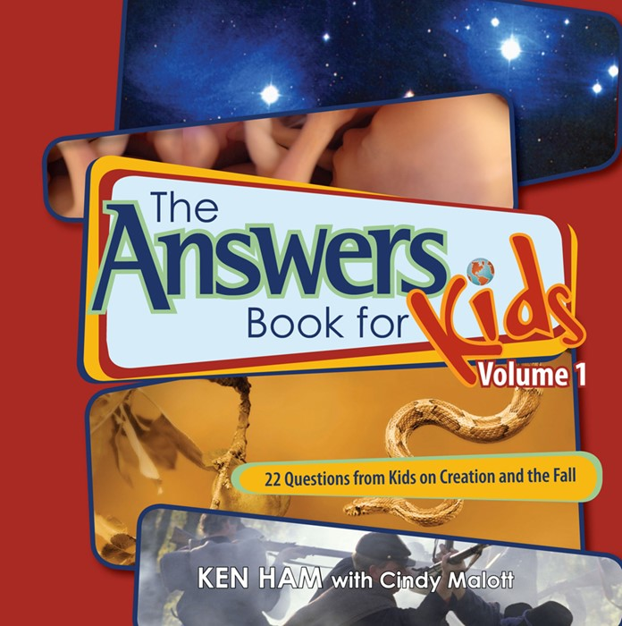 The Answers Book For Kids Vol 1: Creation And The Fall (Hard Cover)