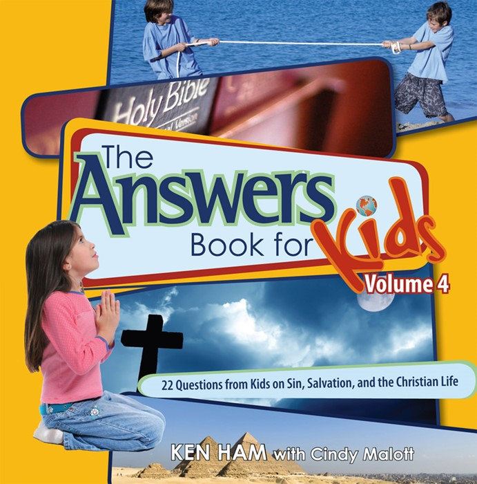 Answers Book For Kids Vol 4: Sin, Salvation, Christian Life (Hard Cover)